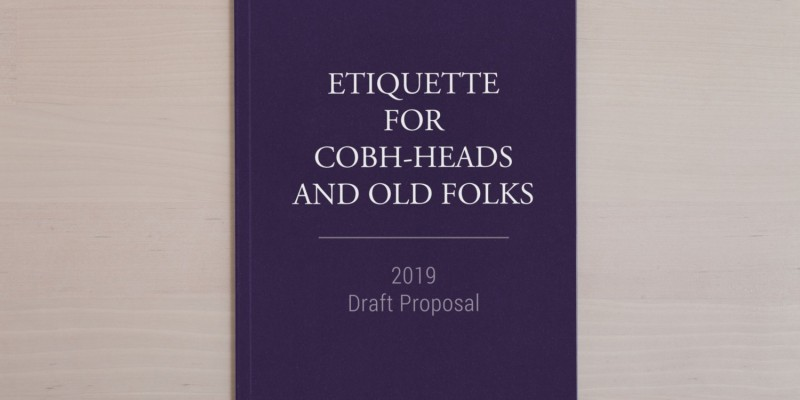 Book Launch: My Mate Manners and Etiquette for Cobh-Heads and Old Folks