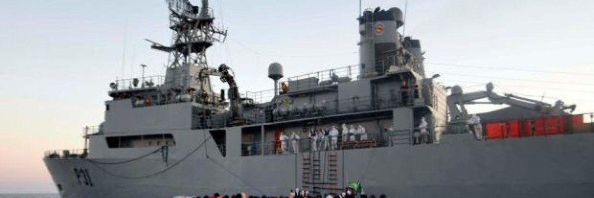 Maritime Talks Series / A humanitarian operation in the Mediterranean
