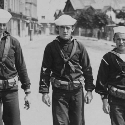 The United States, Cork Harbour & World War One