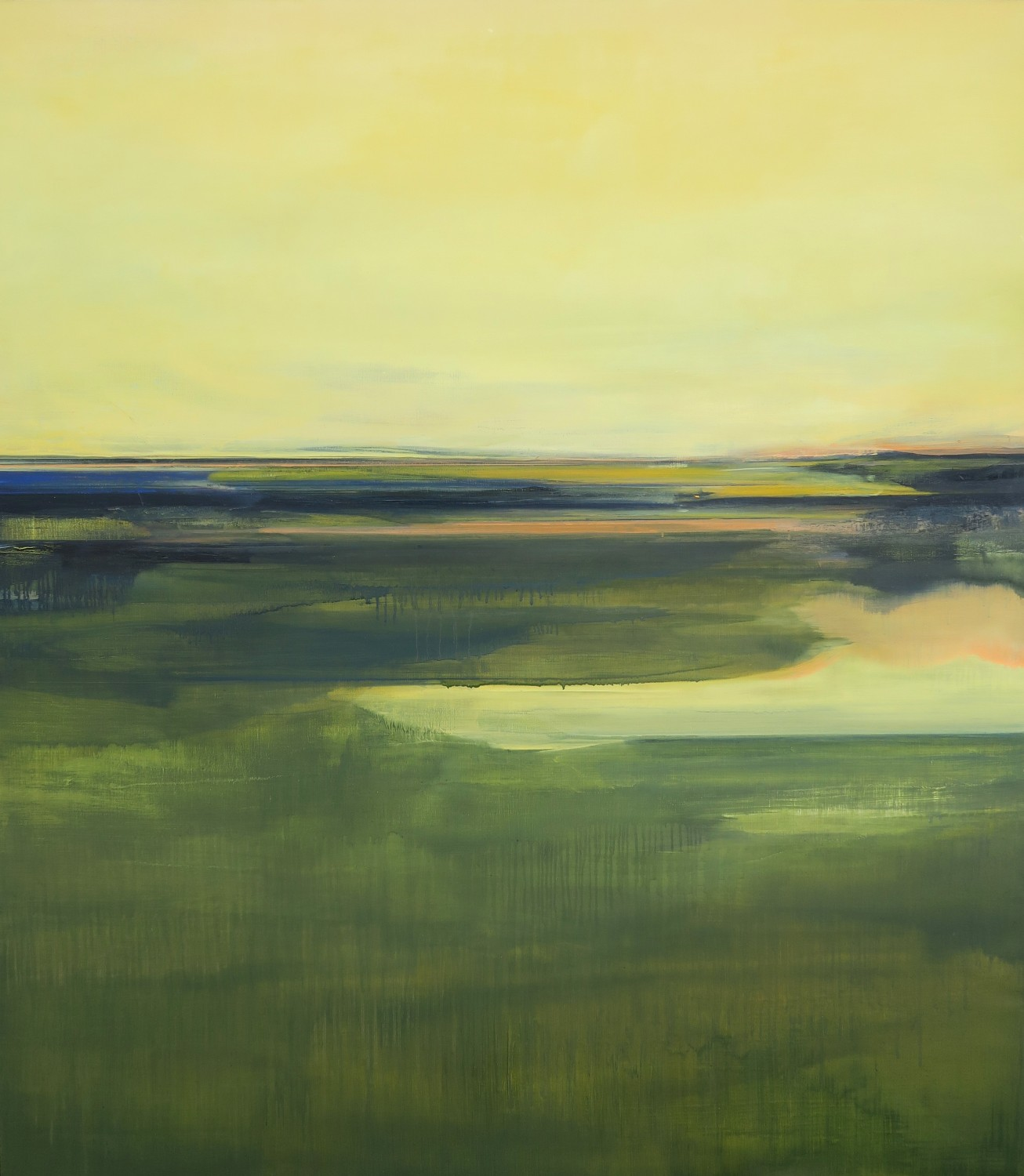 DELAYED (2016), Emma Hartman, oil on canvas, 160x140cm